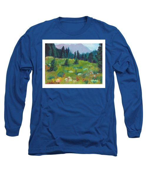 Off The Trail Long Sleeve T-Shirt by C Sitton