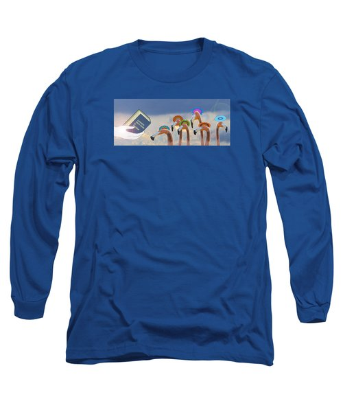 Long Sleeve T-Shirt featuring the photograph Oh When The Saints Go Marching In by I'ina Van Lawick