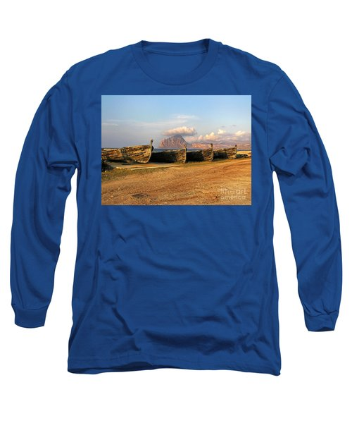Aquatic Dream Of Sicily Long Sleeve T-Shirt