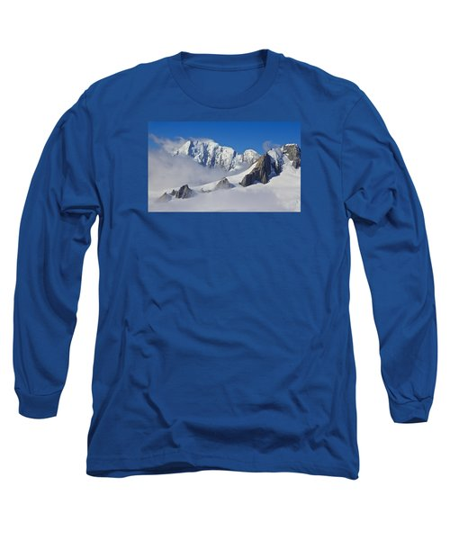 On Top Of The World Long Sleeve T-Shirt by Venetia Featherstone-Witty