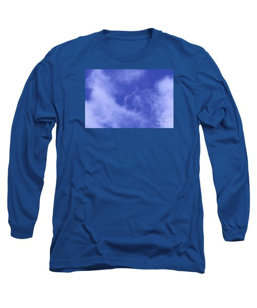 Long Sleeve T-Shirt featuring the photograph Once In A Blue Moon by Judy Whitton