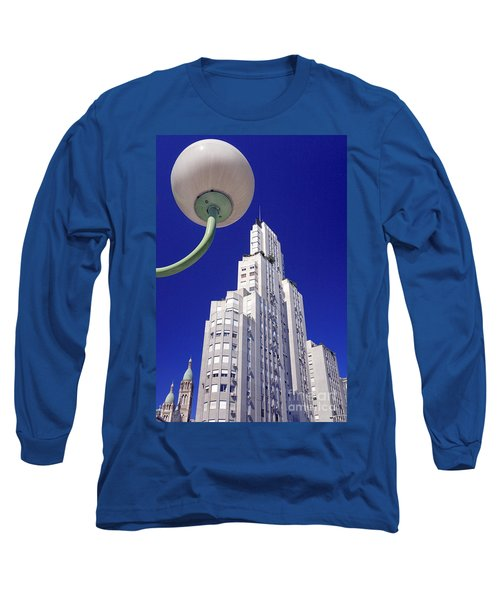 Long Sleeve T-Shirt featuring the photograph Onyric City by Bernardo Galmarini