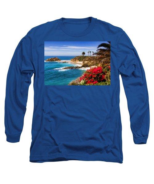 Orange County Coastline Long Sleeve T-Shirt