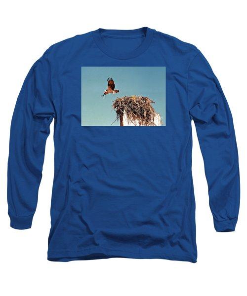 Osprey Long Sleeve T-Shirt by Phyllis Kaltenbach