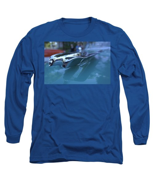 Long Sleeve T-Shirt featuring the photograph Out Of The Metal by Laurie Perry