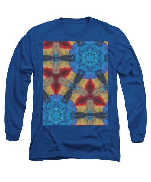 Owl Dream Catcher Long Sleeve T-Shirt by Maria Watt
