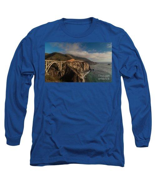 Pacific Coastal Highway Long Sleeve T-Shirt