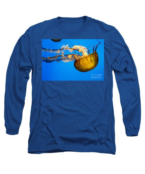 Pacific Nettle Jellyfish Long Sleeve T-Shirt