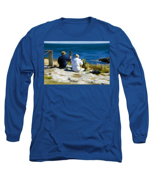 Painting The View Long Sleeve T-Shirt