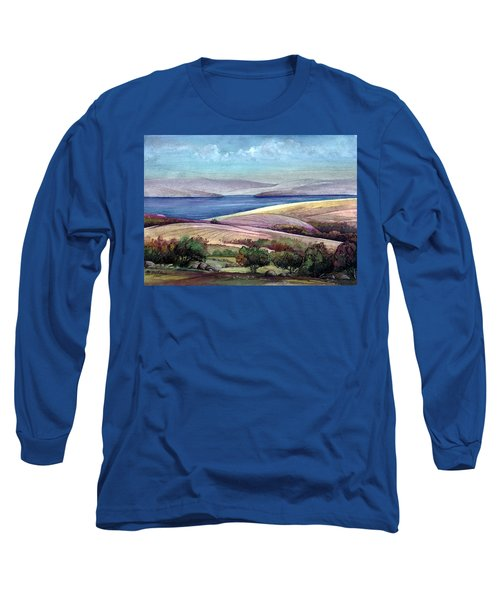 Palestine View Long Sleeve T-Shirt by Mikhail Savchenko