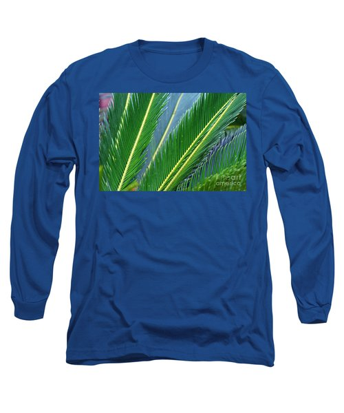 Palm Cycas Fronds Long Sleeve T-Shirt