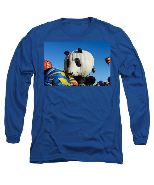 Panda Balloon Long Sleeve T-Shirt