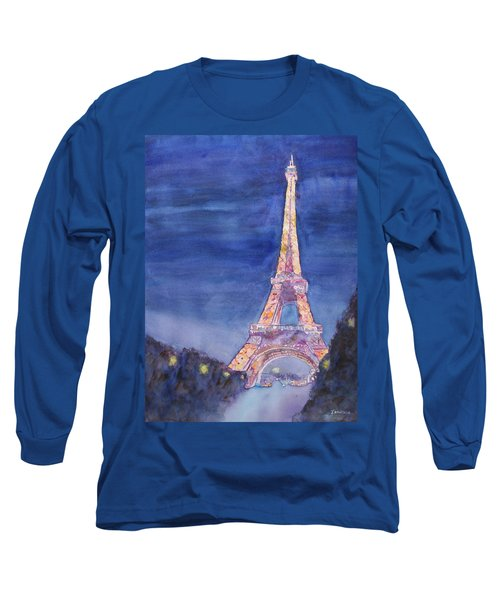 Paris Giant Long Sleeve T-Shirt