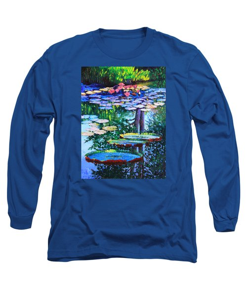 Passion For Color And Light Long Sleeve T-Shirt by John Lautermilch