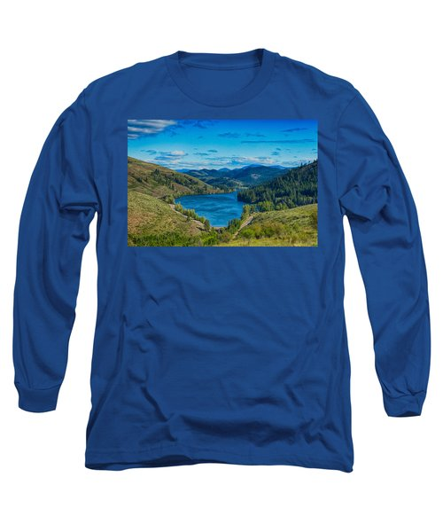 Long Sleeve T-Shirt featuring the photograph Patterson Lake In The Summer by Omaste Witkowski