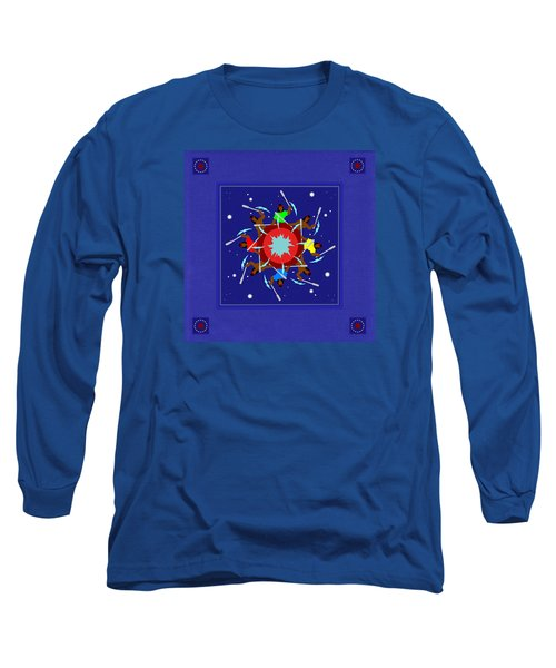 Long Sleeve T-Shirt featuring the photograph Peace Drum by I'ina Van Lawick