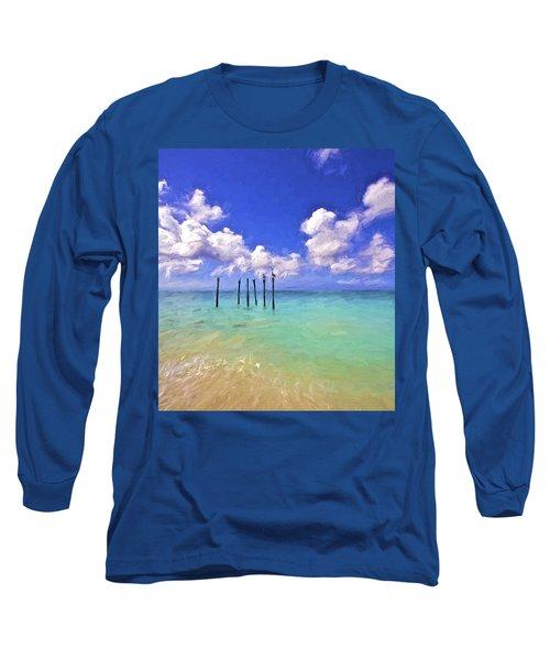 Pelicans Of Aruba Long Sleeve T-Shirt
