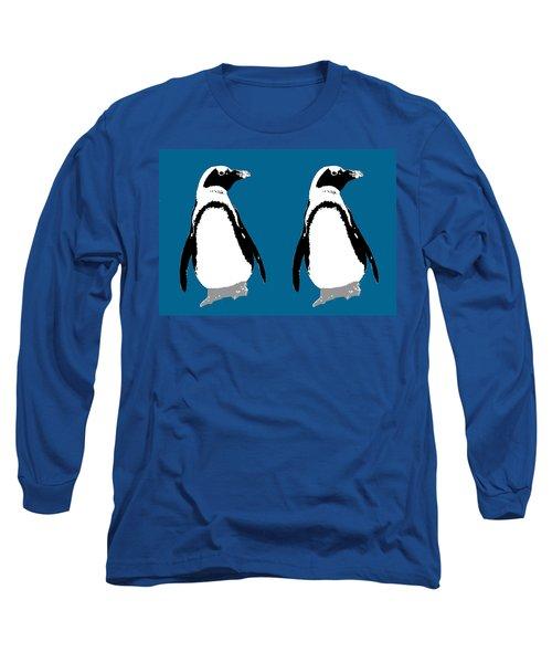 Penguin Twins  Long Sleeve T-Shirt