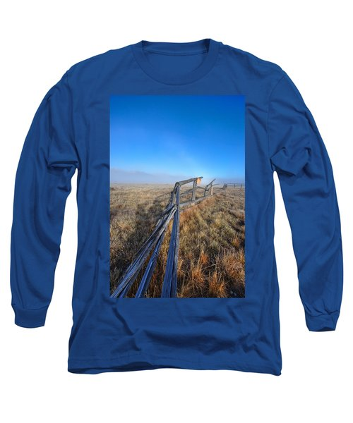 Long Sleeve T-Shirt featuring the photograph Pettit Fog by David Andersen