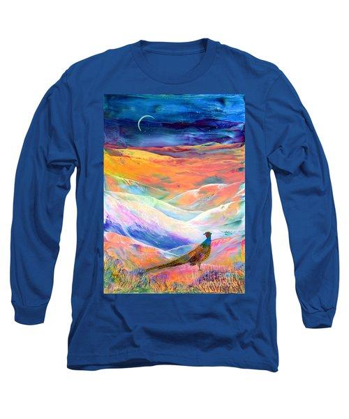 Pheasant Moon Long Sleeve T-Shirt