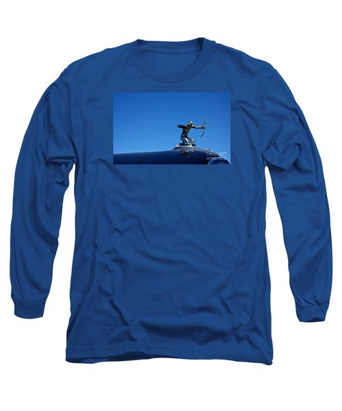 Long Sleeve T-Shirt featuring the photograph 1938 Pierce Arrow by Linda Bianic