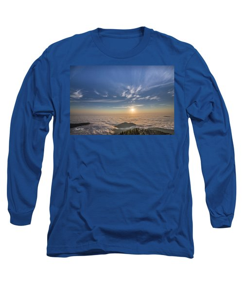 Pilchuck West 2 Long Sleeve T-Shirt by Charlie Duncan
