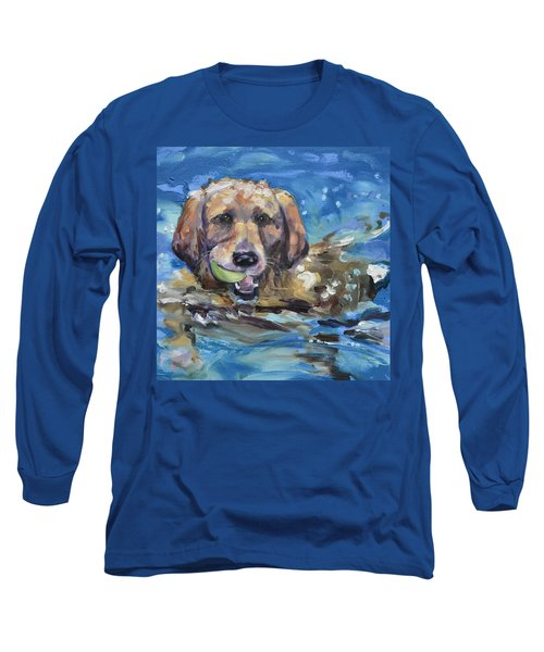 Playful Retriever Long Sleeve T-Shirt