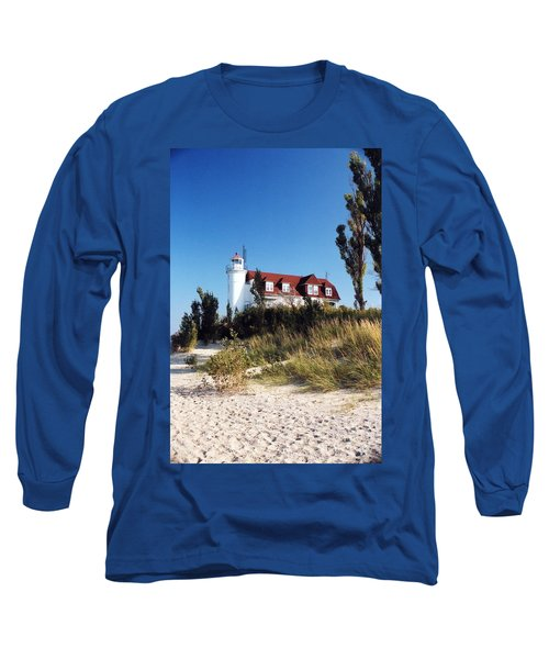 Point Betsie Lighthouse Long Sleeve T-Shirt