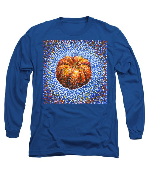 Pointillism Pumpkin Long Sleeve T-Shirt by Samantha Geernaert