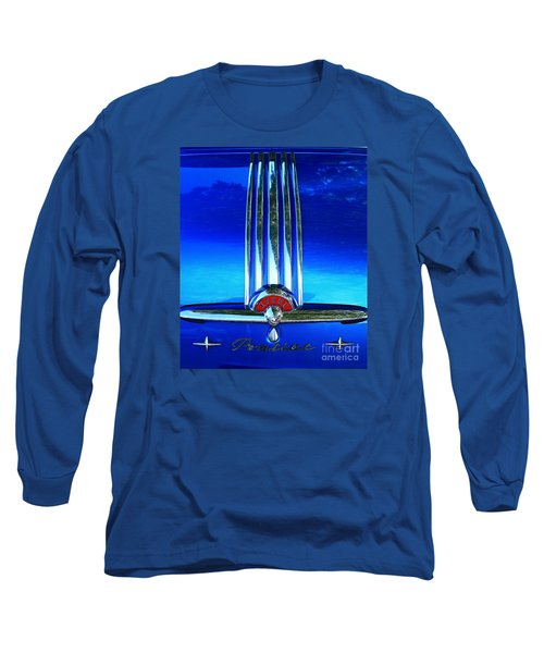 Long Sleeve T-Shirt featuring the photograph Pontiac Eight by Linda Bianic