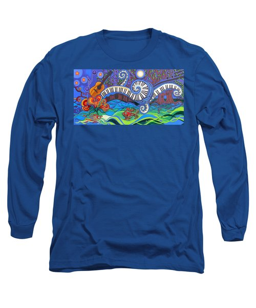 Power Of Music II  Long Sleeve T-Shirt by Genevieve Esson