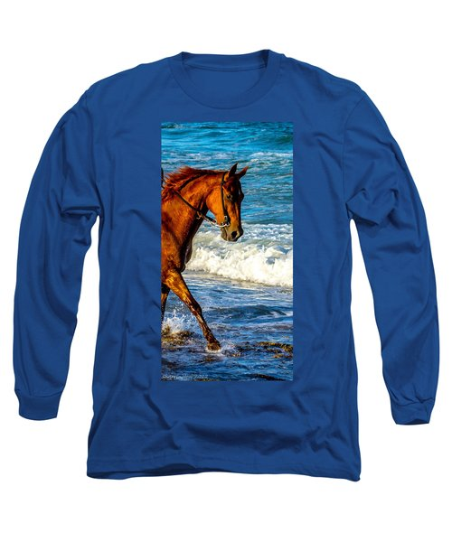 Prancing In The Sea Long Sleeve T-Shirt