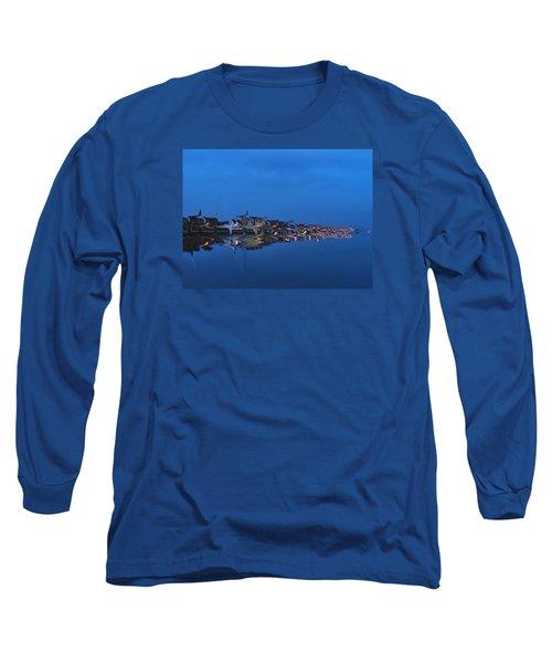 Promenade In Blue  Long Sleeve T-Shirt