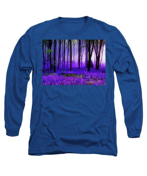 Purple Forest Long Sleeve T-Shirt