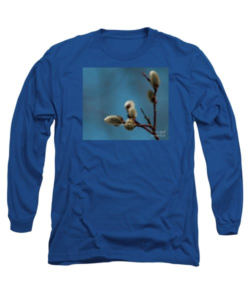 Pussy Willow... Long Sleeve T-Shirt by Nina Stavlund