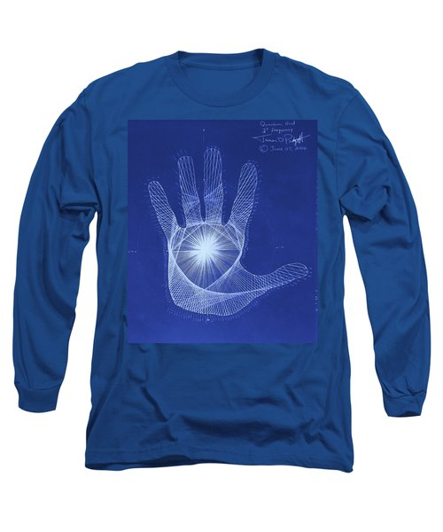 Quantum Hand Through My Eyes Long Sleeve T-Shirt by Jason Padgett