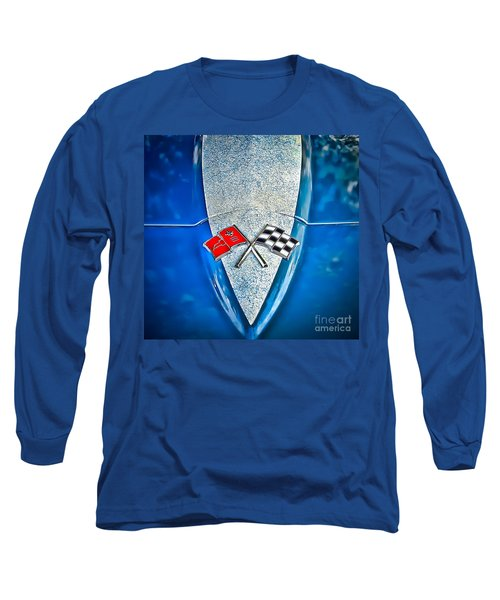 Race To Win Long Sleeve T-Shirt by Colleen Kammerer