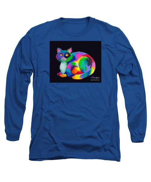 Rainbow Calico Long Sleeve T-Shirt