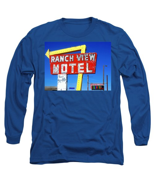 Ranch View Motel Long Sleeve T-Shirt