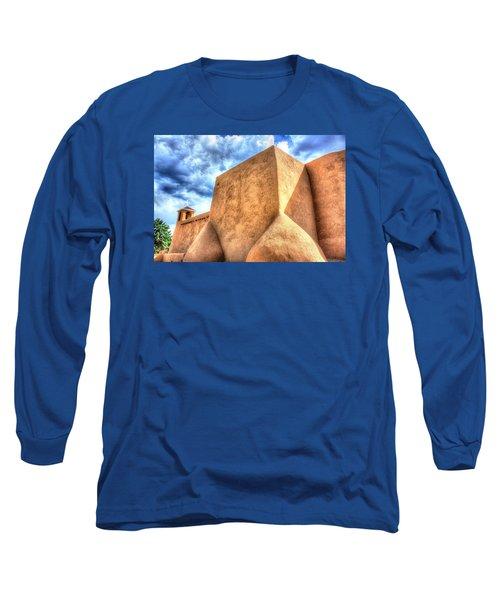 Long Sleeve T-Shirt featuring the photograph San Francesco De Asis, Rancho De Taos I by Lanita Williams