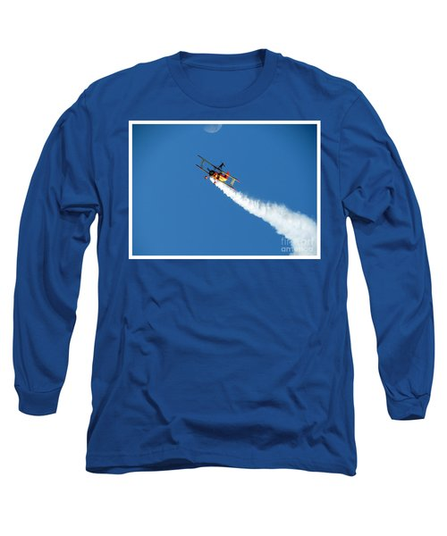 Reaching For The Moon. Oshkosh 2012. Postcard Border. Long Sleeve T-Shirt