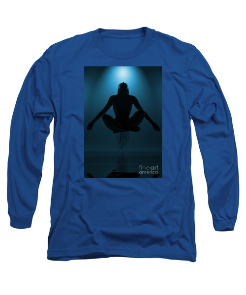 Long Sleeve T-Shirt featuring the photograph Reaching Nirvana.. by Nina Stavlund