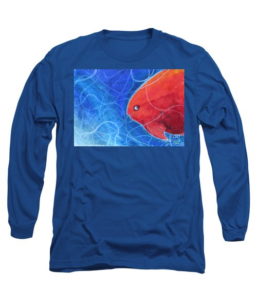 Red Fish Long Sleeve T-Shirt by Samantha Geernaert