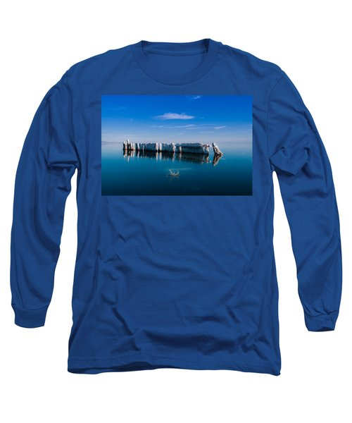 Reflection At Salton Sea Long Sleeve T-Shirt