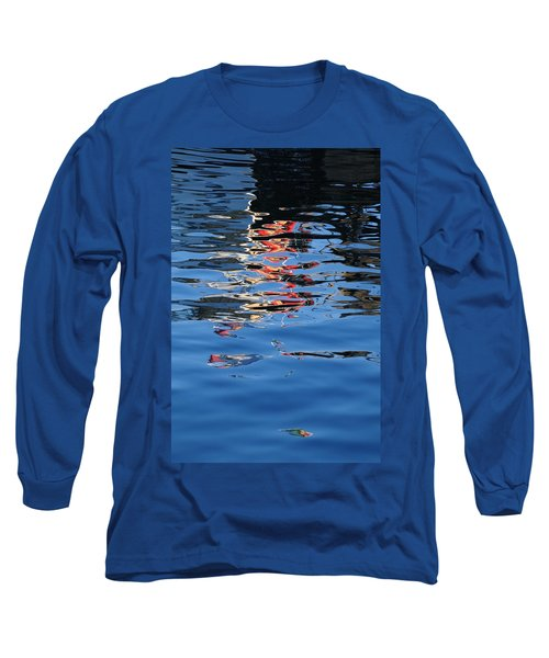 Reflections In Red Long Sleeve T-Shirt