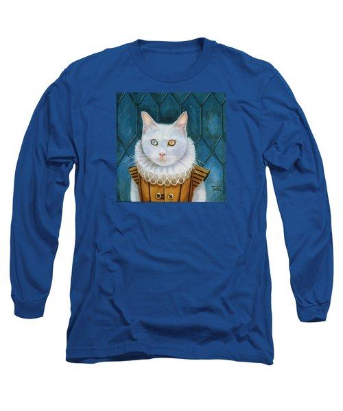 Renaissance Cat Long Sleeve T-Shirt