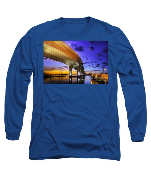 Ribbon In The Sky Long Sleeve T-Shirt by Marvin Spates