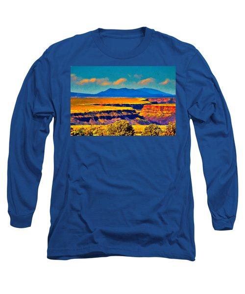 Rio Grande Gorge Lv Long Sleeve T-Shirt
