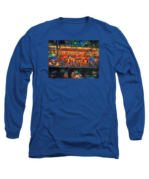 Da190 River Walk By Daniel Adams Long Sleeve T-Shirt
