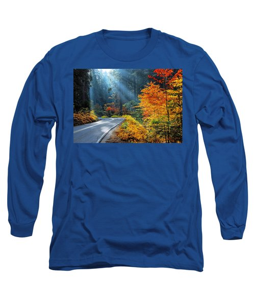 Road To Glory  Long Sleeve T-Shirt by Lynn Bauer